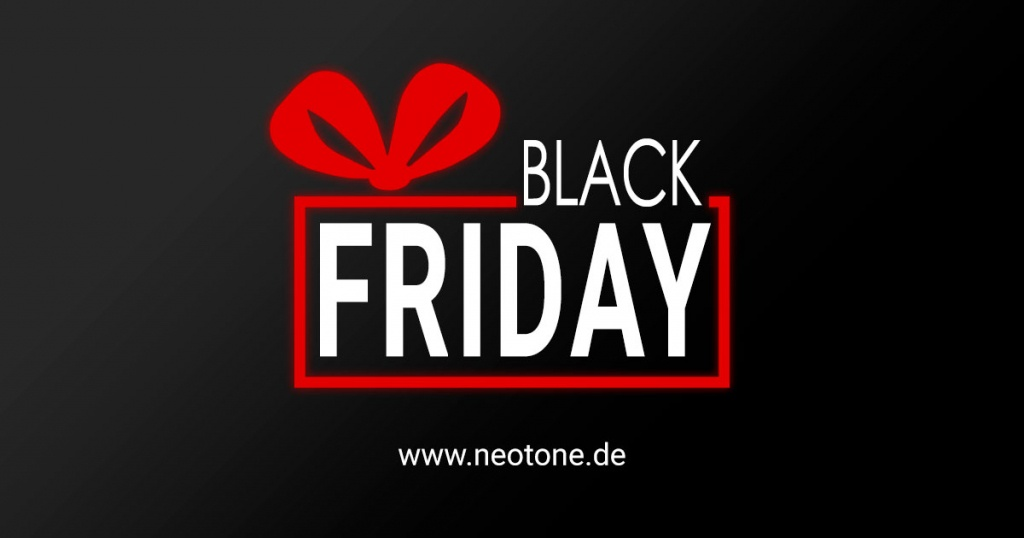BLACK FRIDAY 2020 | Neotone Online Shop